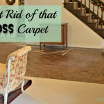 Get Rid of That Gross Carpet!