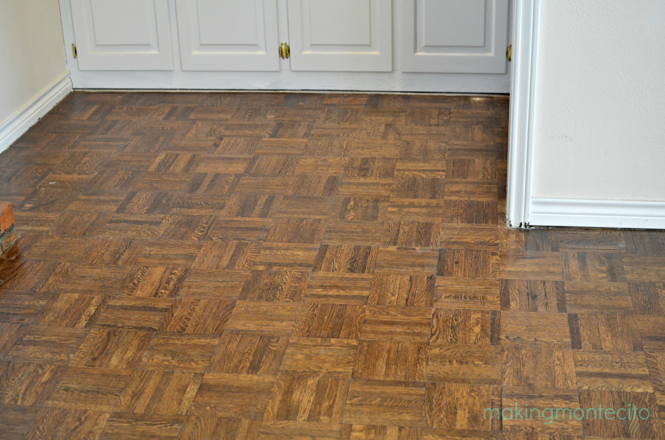 making montecito - revive floors after polish 1