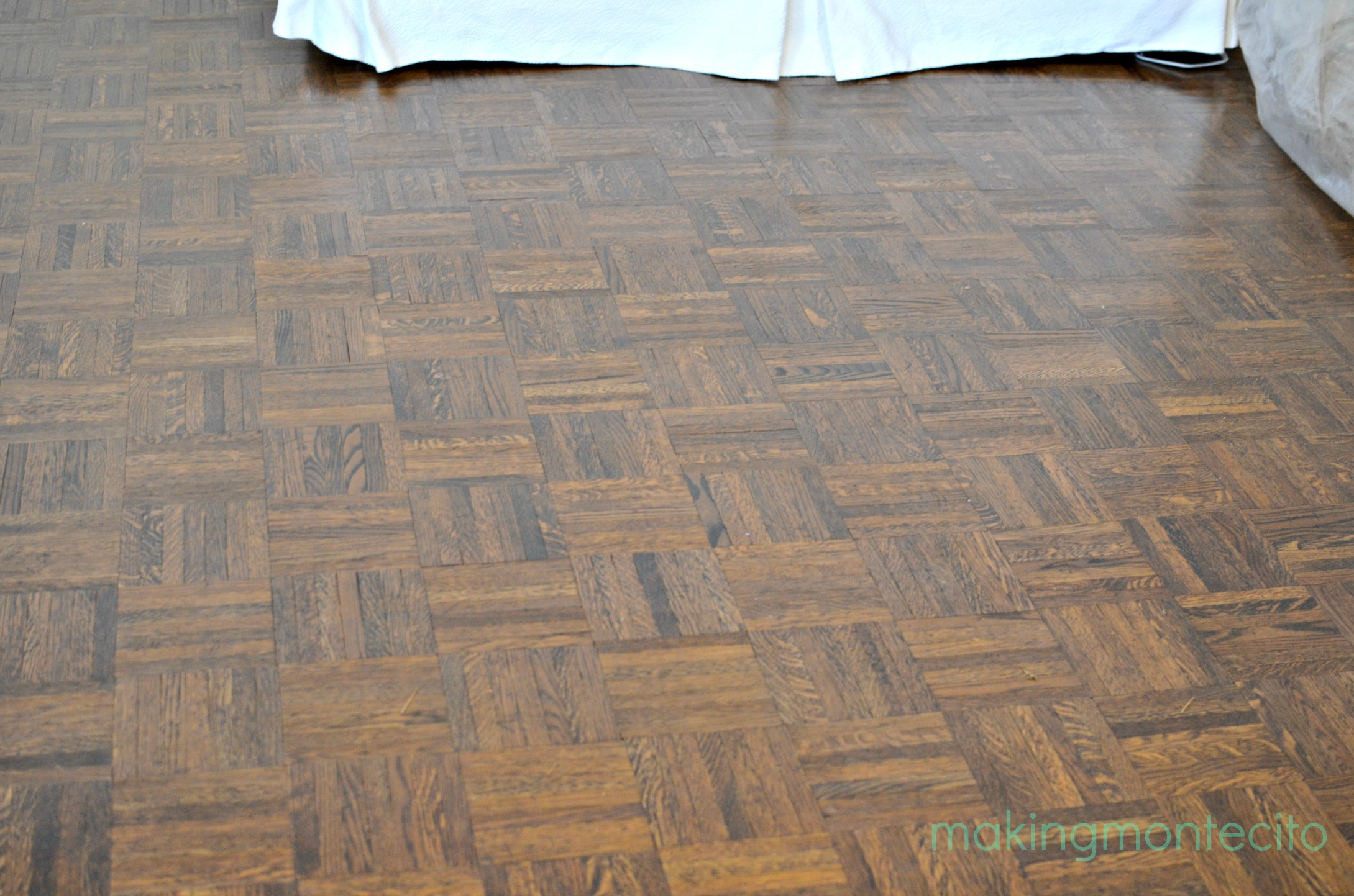 making montecito - revive floors after polish 2