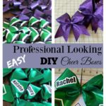 Easy Professional Looking DIY Cheer Bows