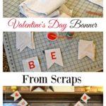 Valentine's Day Banner from Scraps